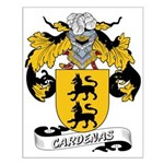 Cardenas Family Crest Small Poster