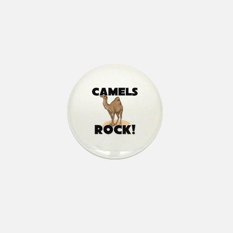 Camels Rock! Mini Button