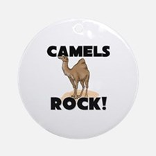 Camels Rock! Ornament (Round)