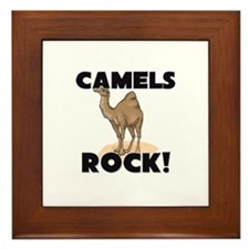 Camels Rock! Framed Tile