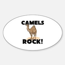 Camels Rock! Oval Decal