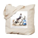 Barrel racing Totes & Shopping Bags