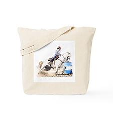 Barrel Racing #33c Tote Bag