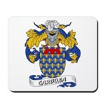 Cardona Family Crests Mousepad