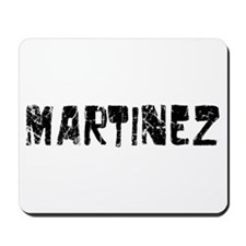 Martinez Faded (Black) Mousepad