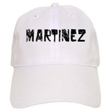 Martinez Faded (Black) Baseball Cap