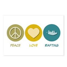 Peace Love Rafting Postcards (Package of 8)