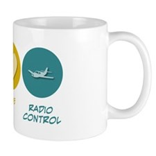 Peace Love Radio Control Small Mug