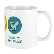 Peace Love Quality Assurance Mug