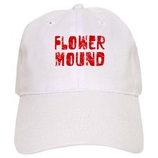 Flower Mound Faded (Red) Baseball Cap
