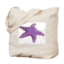 purple starfish Tote Bag