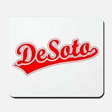 Retro DeSoto (Red) Mousepad