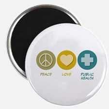 "Peace Love Public Health 2.25"" Magnet (10 pac"