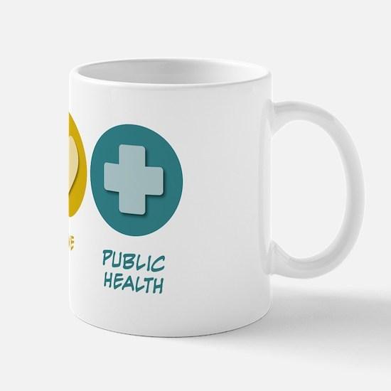 Peace Love Public Health Mug