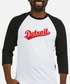 Retro Detroit (Red) Baseball Jersey