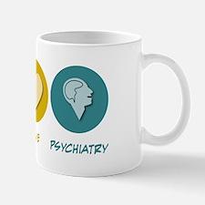 Peace Love Psychiatry Mug
