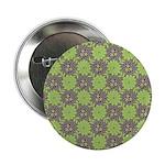 "Retro Floral Print 2.25"" Button (100 pack)"