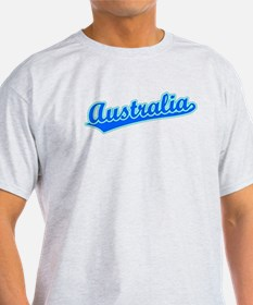 Retro Australia (Blue) T-Shirt