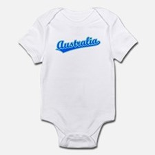 Retro Australia (Blue) Infant Bodysuit