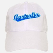 Retro Australia (Blue) Baseball Baseball Cap