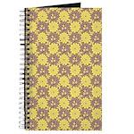 Mod Retro Floral Print Journal