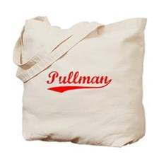 Vintage Pullman (Red) Tote Bag