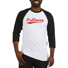 Vintage Pullman (Red) Baseball Jersey