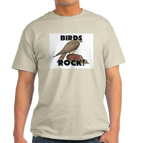 Birds Rock! Light T-Shirt