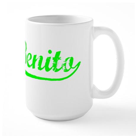 Vintage San Benito (Green) Large Mug