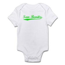 Vintage San Benito (Green) Infant Bodysuit