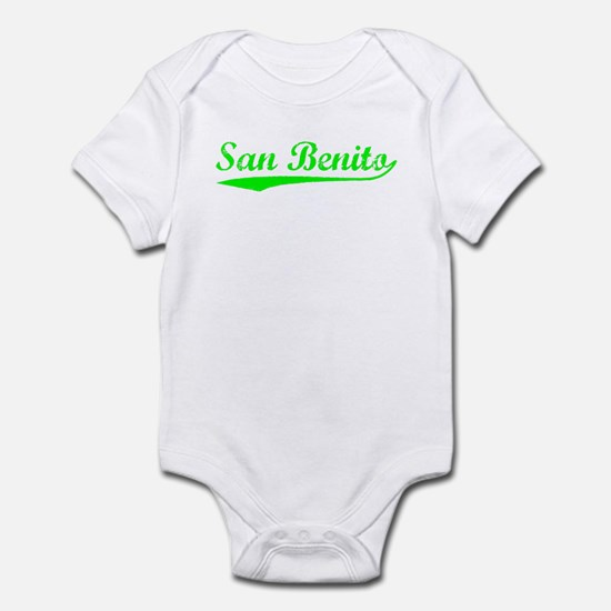 Vintage San Benito (Green) Infant Bodysuit