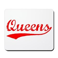 Vintage Queens (Red) Mousepad