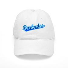 Retro Barbados (Blue) Baseball Cap