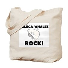 Beluga Whales Rock! Tote Bag