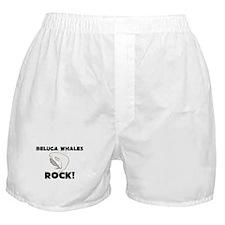 Beluga Whales Rock! Boxer Shorts