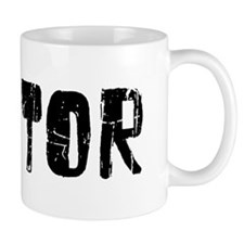 Mentor Faded (Black) Mug