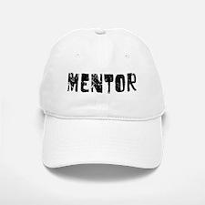Mentor Faded (Black) Baseball Baseball Cap