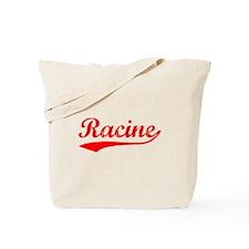 Vintage Racine (Red) Tote Bag