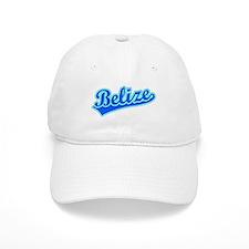 Retro Belize (Blue) Baseball Cap