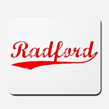 Vintage Radford (Red) Mousepad