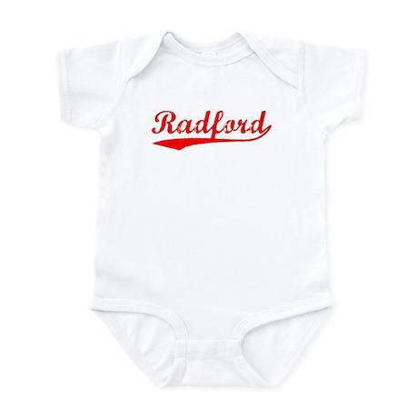 Vintage Radford (Red) Infant Bodysuit