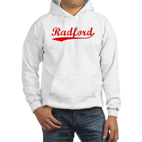 Vintage Radford (Red) Hooded Sweatshirt