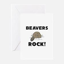Beavers Rock! Greeting Cards (Pk of 10)