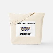 Basking Sharks Rock! Tote Bag