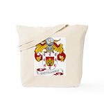 Castellanos Family Crest Tote Bag