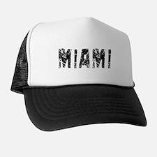 Miami Faded (Black) Trucker Hat