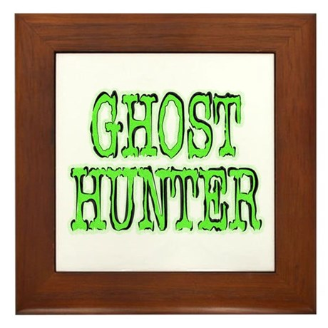 ...Ghost Hunter 2... Framed Tile