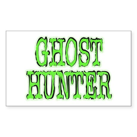 ...Ghost Hunter 2... Rectangle Sticker