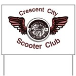 Crescent City Scooter Club Yard Sign