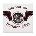 Crescent City Scooter Club Tile Coaster